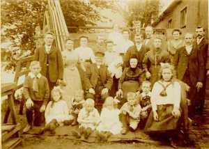 Jacob Brandenburg * 1855 en familie